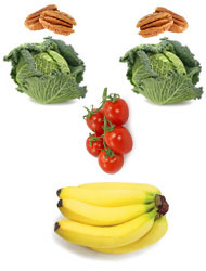 Happy fruits & veggies on the elimination diet