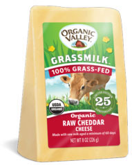 Organic Valley raw cheese