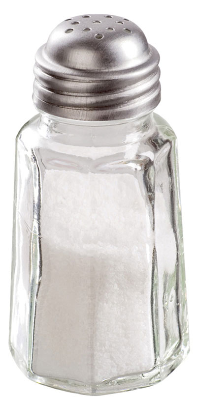 Refined table salt