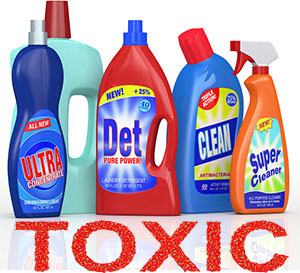 Avoid toxic household cleaners