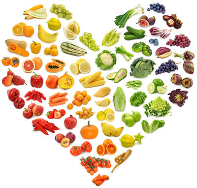 Antioxidant-rich fruits & veggies