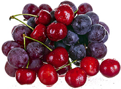 Grapes & cherries - nature's chemotherapy